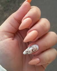 21+ Peach Nail Art Designs, Ideas | Design Trends - Premium PSD ...