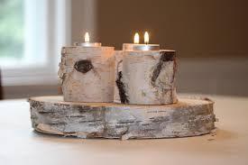 ... White Birch Candle & Tea Light Holders