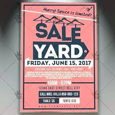Yard Sales Flyers Giant Yard Sale Sell Or Shop Garage Sale Flyer