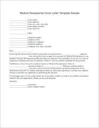 Cover Letter Samples For Receptionist Resume Cover Letter Examples