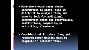 tips for success in writing a psychology paper involving case tips for success in writing a psychology paper involving case study analysis