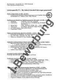 Initiativbewerbung Muster Vorlagen F R Bewerbung Seite7
