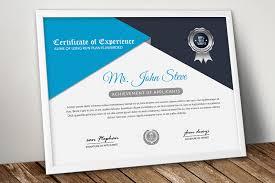 Corporate Certificate Template Corporate Certificate Word Template By Designhub