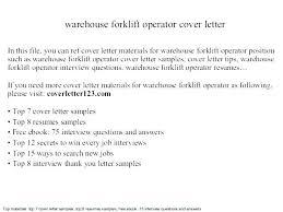 Forklift Operator Resume Sample Topgamers Xyz