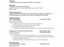 100 Psychology Resume Templates Professional Entry Level Human
