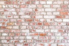 rustic brick wall texture of old rustic brick wall painted with white stock photo rustic brick rustic brick wall old
