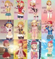 c': algo super hermoso | Pokemon, Pokemon ash and serena, Pokemon characters