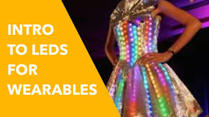 Micro Led Lights Clothing Led Lights For Wearable Tech Beginner How To Guide