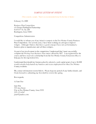 Resume Performa letter of intent to purchase business template