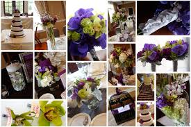 Purple and green wedding colors Wedding Decorations The Knot Purple Gray Green Wedding Flowers At Arrowhead Golf Club In Wheaton