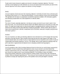Resume Objective For Human Resources Best of 24 Sample HR Executive Resumes Sample Templates