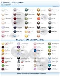 Pearl Color Chart New Swarovski Color Charts Pearls Swarovski Jewelry