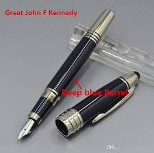 kennedy office supplies. Modren Supplies Great John Kennedy Dark Blue Classic Fountain Pen Stationery School Office  Supplies Monte Brands Writing Ink Pens With JFK Mark Number Clip Luxury  For M