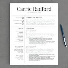 Resume Templates Best Awesome Impressive Resume Template Professional Resume Template Free