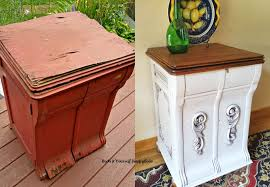 Cabinet Record Player Old Record Player Cabinet Guest Post Country Chic Paint