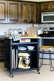 Perfect How To Build A DIY Kitchen Island On Wheels