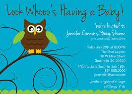 Owl Baby Shower Invitations Boy  Baby ShowerOwl Baby Shower Invitations For Boy
