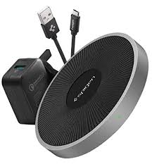 Spigen Fast <b>Wireless</b> Charger with QC 3.0 USB Charger [Premium ...