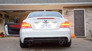 Coupe Series bmw 135i exhaust : 2010 135i Remus Quad & Maddad Mids - YouTube