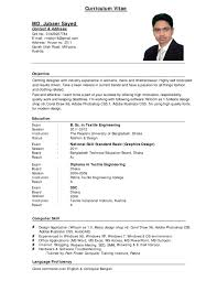 vita resume template  day covita resume template bbfb