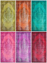 right now rugs usa is having a 35 off so you could get one of these winsdor overdyed grove rugs in the 8 10 size for under 400