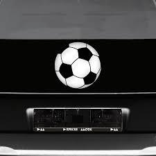 Aufkleber 5 X 20cm 10 X 10cm Fußball Ball Wm Em Fan Deko Für Auto