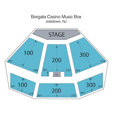 Atlantic City Beach Concert Seating Chart 24 Meticulous Borgata Music Box Seating
