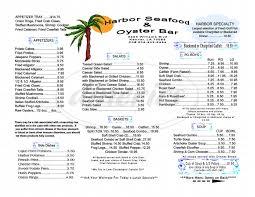 Cove Seafood Menu - Kenner - Dineries