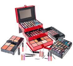 shany all in one makeup kit eyeshadow blushes powder lipstick more