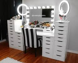makeup vanity lighting ideas. makeup vanity beauty room mirror ring lights i like the chair lighting ideas o