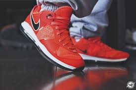 lebron 8 low. nike-lebron-v-2-low-solar-red-2 lebron 8 low