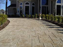 Best Mix Design For Stamped Concrete Why Stamped Stained Concrete Driveways And Patios Add