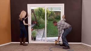 sensational sliding glass door trim how to trim a sliding glass door images doors design ideas