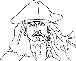 Small Picture Pirates of the Caribbean Coloring Pages