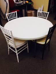 how many chiavari chairs fit at a 48 round table national in inch plans 14