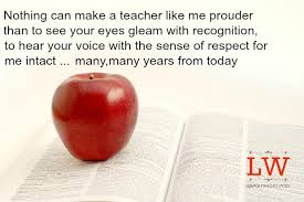 Teacher Message Letter Of Teacher To Graduates A Letter Writer