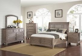 Elegant Allegra Pewter Storage Bed