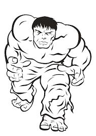 Hulk Da Colorare Cose Per Crescere