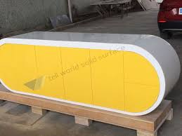 office worktop. superior new arrived google desk executive office yellow semi circle worktop n