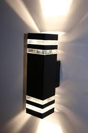 40W40W40W40W LED Exterior Wall Sconces UpDown Light Waterproof Fascinating Basement Lighting Design Exterior