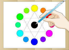 how to draw a color wheel steps with pictures wikihow interor design main door