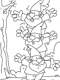 Small Picture Coloring Page Gnome coloring pages 8