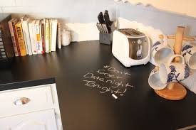 Counter Top Paint March Orchard Chalkboard Countertops Update