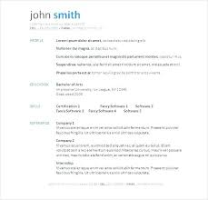 Free Downloadable Resume Templates For Word 2010 Download Resume