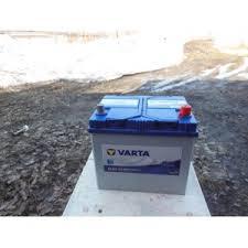 Аккумуляторы <b>Varta</b> D47 Blue Dynamic 560 410 054 обратная ...