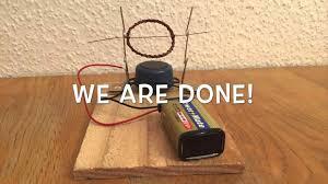 simple electric motor science fair project cubangbakinfo