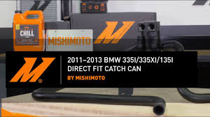 Coupe Series 2013 bmw 335xi : 2011–2013 BMW 335I/335XI/135I Direct Fit Catch Can Installation ...