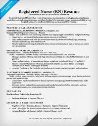 Nursing Resume Examples Amazing Nurses Resume Examples Canreklonecco