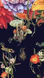 bg77-flower-drawing-illust-paint-art-dark