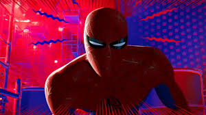 the animated film spider man into the spider verse mi things up by introducing a whole bunch of spider people one of the elements that makes it easily